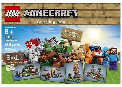 LEGO Minecraft Crafting Box 21116 *BRAND NEW* Greatest Set Ever!