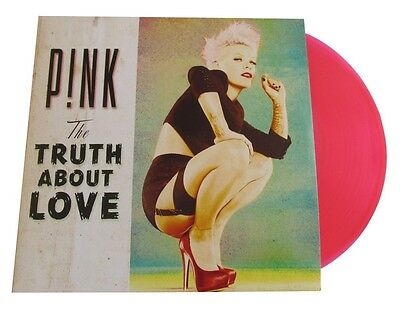 P!nk - The Truth About Love 2 Pink Colored Vinyl  Pink Lp + Cd New+