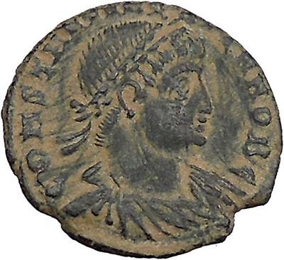 CONSTANTINE II son of  Constantine the Great Ancient Roman Coin Standards i46816