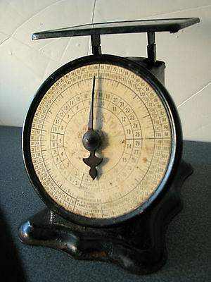 Vintage TRINER postal scale PRECISION Antique and it works!