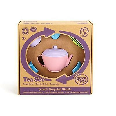 Kids New Green Toys Tea Set Toddler Toy Gift Play Childs