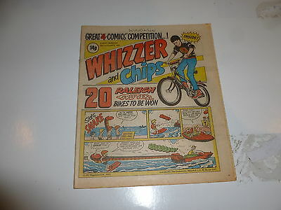 WHIZZER & CHIPS Comic - Date 26/09/1981 - UK Paper Comic