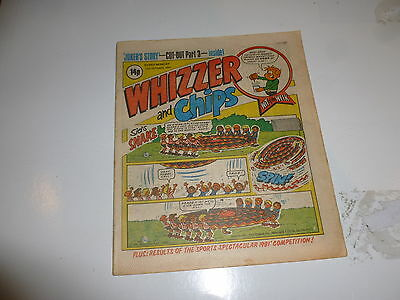 WHIZZER & CHIPS Comic - Date 17/10/1981 - UK Paper Comic