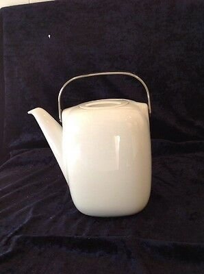 Rosenthal Suomi White Coffee Pot - As New - Signed