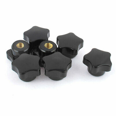 7Pcs M7 Female Thread Star Shaped Head Clamping Nuts Knob