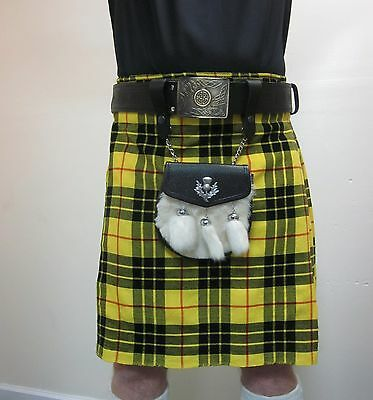 Macleod Tartan Scottish Kilt   Waist Sizes 30 - 52