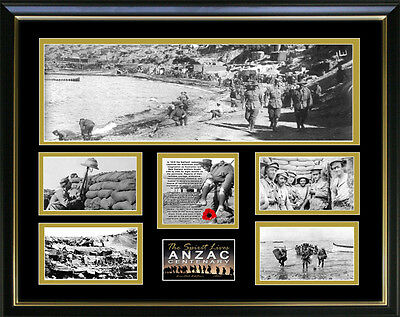 New Anzac Centenery Framed Memorabilia