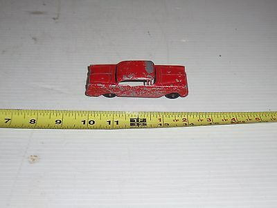 vega OLD VINTAGE  TOOTSIE TOY CAR HOLIDAY OLDS 98 CAST METAL RUBBER TIRES
