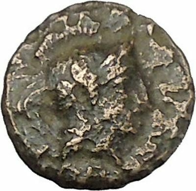PERGAMON in ASIA MINOR 300BC Authentic Ancient Greek Coin Hercules Athena i45777