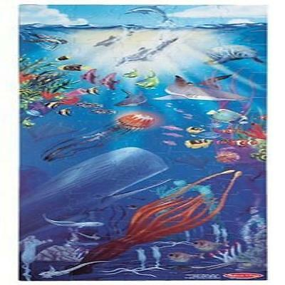 New Kids Melissa & Doug Under The Sea 100 Piece Floor Puzzle Toddler Toy Gift