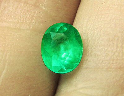 3.46 ct Natural Combian Emerald Certified