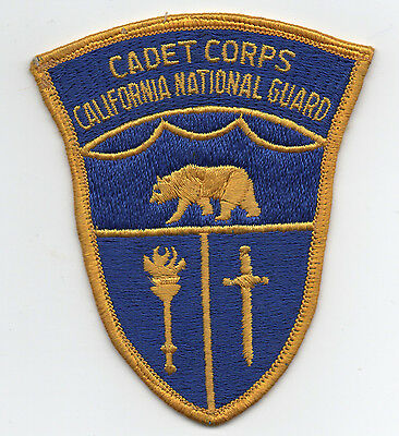 Older California National Guard Cadet Corps Patch