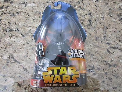 Factory Sealed Star Wars Revenge Of The Sith Darth Vader Action Figure