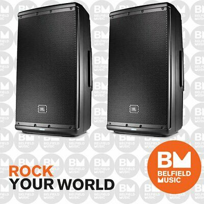 2 x JBL EON 615 Powered Speaker 15 Inch 15'' 1000W EON615 Pair - BNIB - BM
