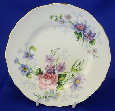 "A Crown Staffordshire 'englands Glory' 6¼"" Tea/side Plate"