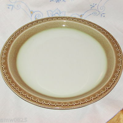 "VINTAGE SYRACUSE CHINA CINNAMON 12"" OVAL SERVING PLATTER U.S.A. RESTAURANT WARE"