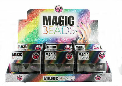 12 x W7 Magic Beads for Nails Set | on Display | Wholesale cosmetics
