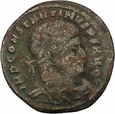 Constantine I the Great  313AD Ancient Roman Coin Sol Sun God Cult  i45864