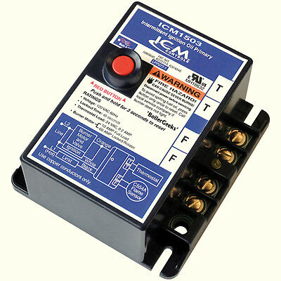 ICM1503 Intermittent Ignition Oil Primary Control for Honeywell R8184G4009-FAST!