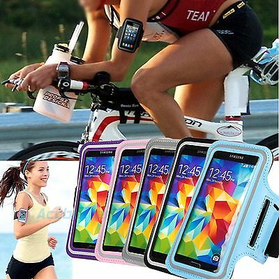 Running Exercise Gym Armband Case Cover Pouch For Samsung Galaxy S5 & Sport