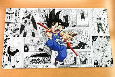 C1824 Free Mat Bag Goku Dragonball Z Playmat Card Games Play Mat Large Mouse Pad