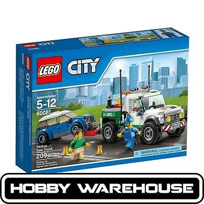 LEGO 60081 City Pickup Tow Truck (BRAND NEW SEALED)