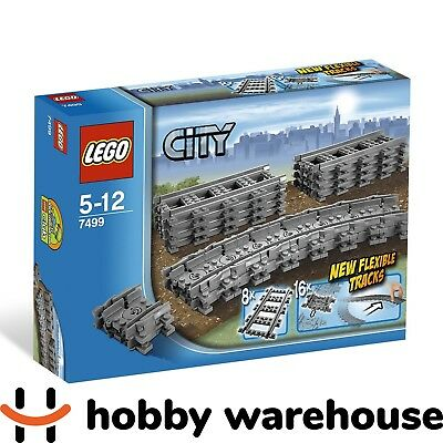 LEGO 7499 City Flexible and Straight Train Tracks (BRAND NEW SEALED)