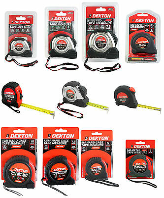 3m, 5m, 7.5m & 10m Metric Only Measuring Tape Retractable Stainless Steel