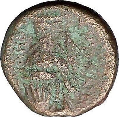 SMYRNA in IONIA 2-1stCenBC Caestus ANCIENT BOXING GLOVES Greek Coin Rare i46972