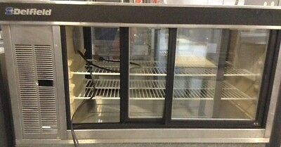 USED RESTAURANT EQUIPMENT - PIE CASE - REFRIGERATED  COUNTER TOP