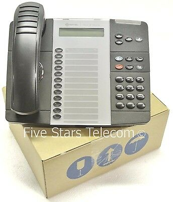 Mitel 5312 IP VoIP Phone Telephone Black - Dual Mode - 50005847 - NEW