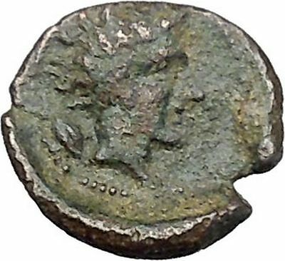GELA in SICILY 420BC Onkiai BULL GELAS Authentic Ancient Greek Coin i45475