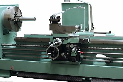 "EISEN HR26120 Heavy Duty Lathe 6"" Bore, 26"" Swing, 20HP, w/ Rapid Traverse, TTA"