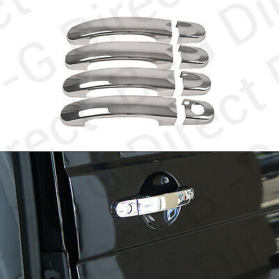 VW Transporter T5 2010> Stainless Steel Chrome Door Handle Covers