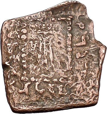 Apollodotos I 174BC Baktrian Indo Greek King of India Apollo Ancient Coin i46914
