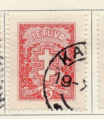 Lithuania 1927 Early Issue Fine Used 15c. 118629