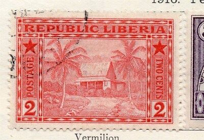 Liberia 1916 Early Issue Fine Used 2c. 118635