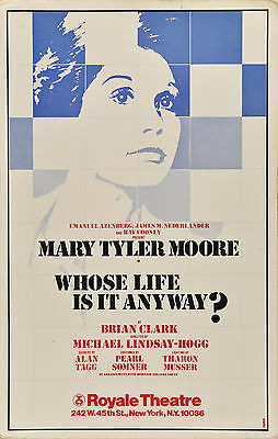 Whose Life Is It Anyway-- Mary Tyler Moore