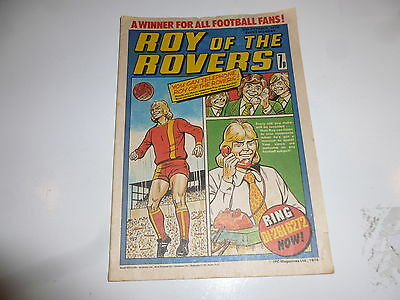 ROY OF THE ROVERS Comic - Year 1976 - Date 30/10/1976 - UK Paper Comic