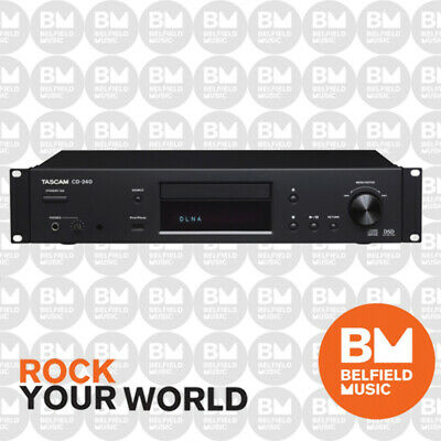 Tascam CD-240 CD/Network Audio Player for Install and Music Playback CD240 - BM