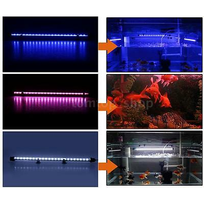 Aquarium Fish Tank Waterproof 48cm 60pcs LED Light Bar Submersible 3 LED Colors