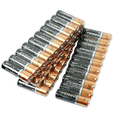 Duracell 1.5V DC 30 AA & 10 AAA Duralock Alkaline Batteries 40 Total Exp.2021
