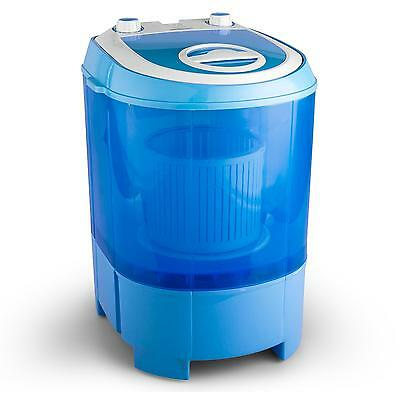 PORTABLE WASHING MACHINE SPIN CYCLE 2.8kg HOME GARDEN TRAVEL CLOTHES WASHER