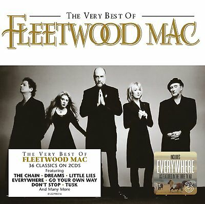 Fleetwood Mac The Very Best Of Compilation Cd Rock 2009 New