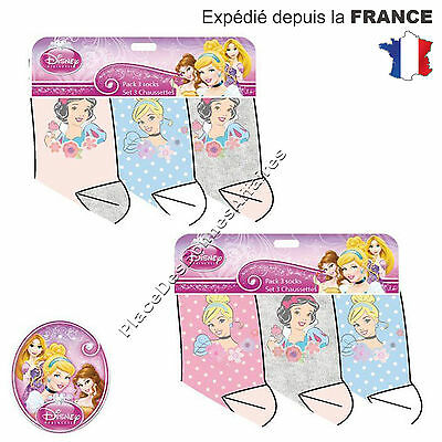 Chaussette enfant PRINCESSE DISNEY Lot de 3, 6, 9 Paires Assortie NH4971 !!!
