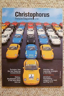 1994 Porsche Christophorus Magazine English #250 September 1994 Awesome L@@K