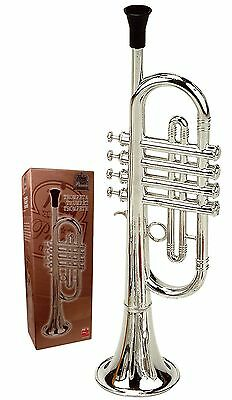 Reig Deluxe Trumpet (Silver), Free Shipping, New
