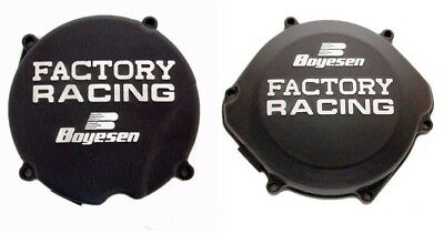 Boyesen Clutch & Ignition Black Cover For Honda CR 500 87-01 SC-03B CC-02B