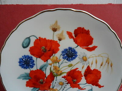 Bradex/Royal Albert, LE Collectors Plate, Cornfield Poppies