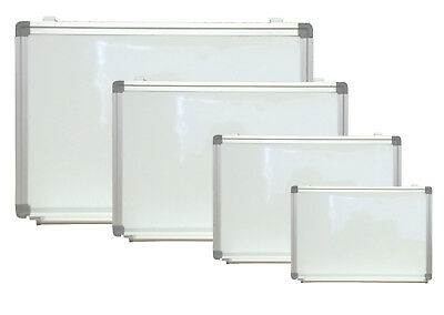 Magnetic Dry Erase White Board With Tray Menu Sign 18 x 24 Aluminum Framed